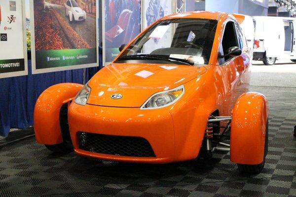 Elio Motors собирает средства на создание трицикла