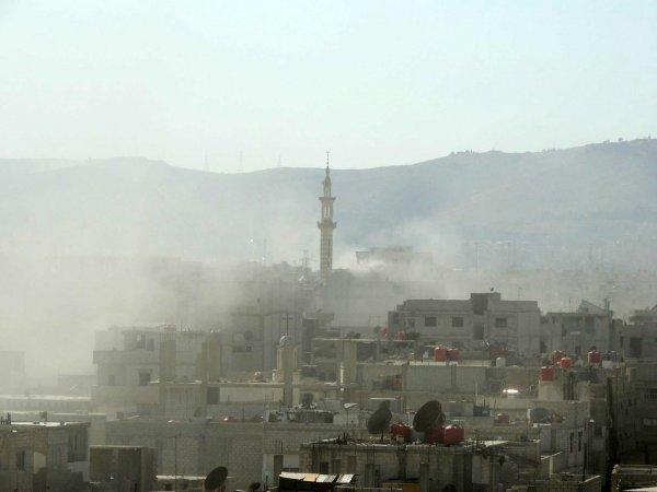 Al Jazeera отсняла постановку применения химоружия в Сирии