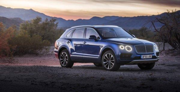Bentley собирается увеличить число версий кроссовера Bentayga
