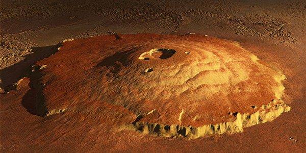 На Марсе замечена живая человекоподобная фигура