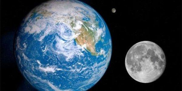 Луна сформировалась при столкновении Земли и другой планеты