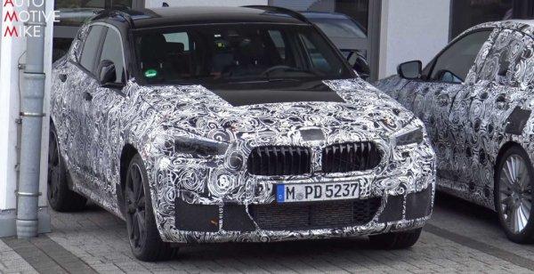 Кросс-купе BMW X2 тестируют на Нюрбургринге
