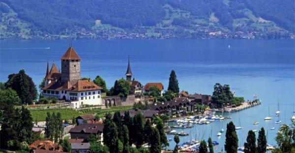 В Швейцарии денежные купюры украсили бабочками