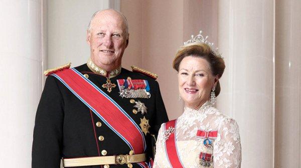 Монаршая чета Норвегии отметила сегодня 80-летний юбилей