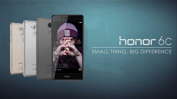 Объявлена рублевая цена смартфона Huawei Honor 6С