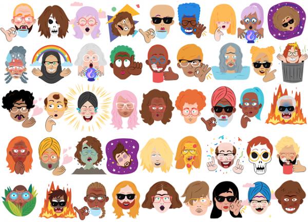 Мессенджер Google Allo сможет создавать стикеры из селфи