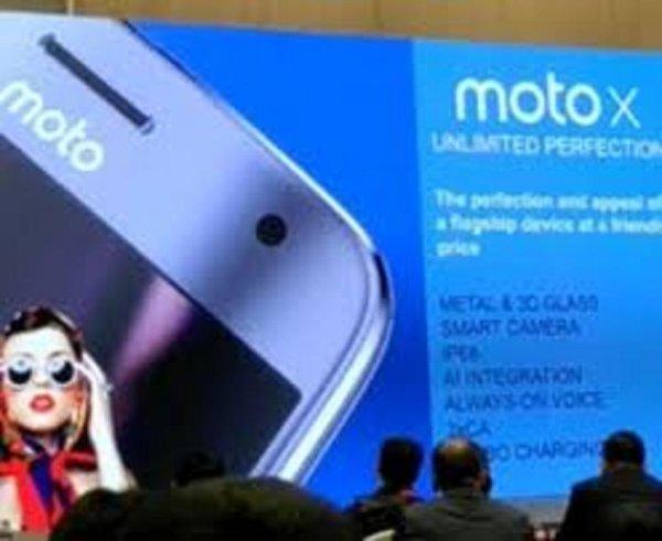 В Китае на закрытой презентации представлен смартфон Moto X 2017