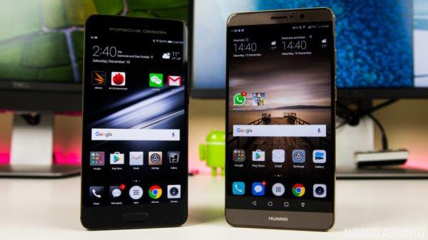Смартфон Huawei Mate 9 появится в новых красном и синем цветах