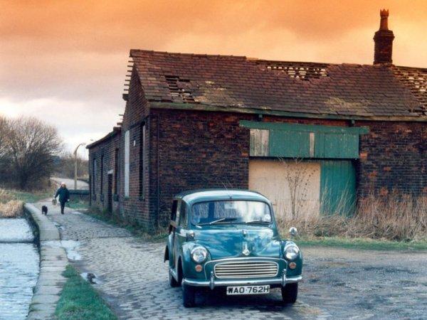 Житель Шотландии доехал до России на старой машине