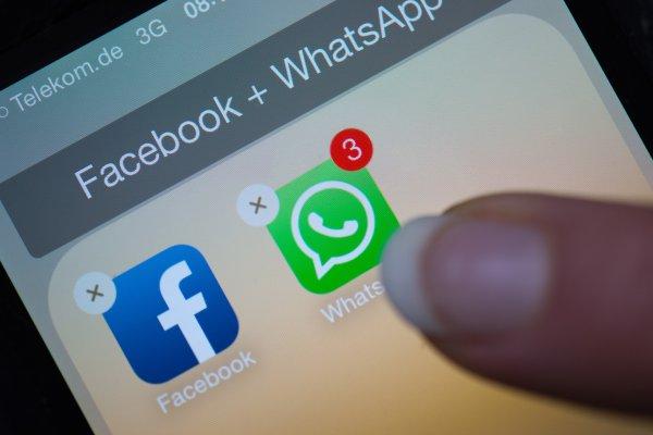Facebook из-за обмана при покупке WhatsApp выставили штраф в €110 млн