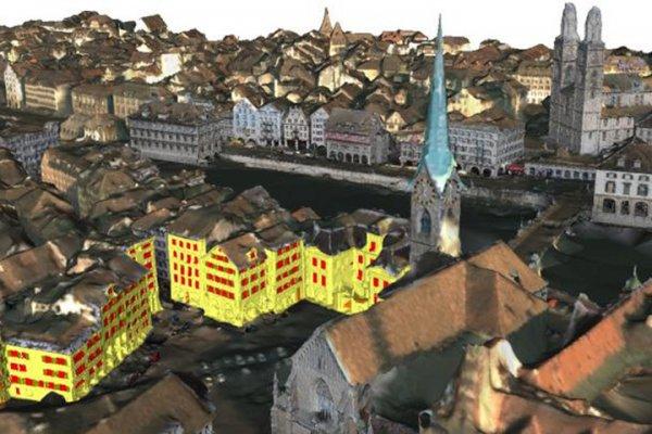 Специалисты создали уникальную 3D-версию Цюриха