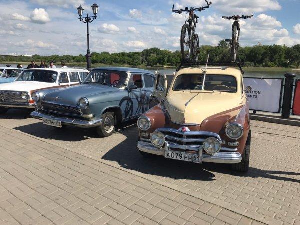 В Ростове прошла выставка раритетных автомобилей