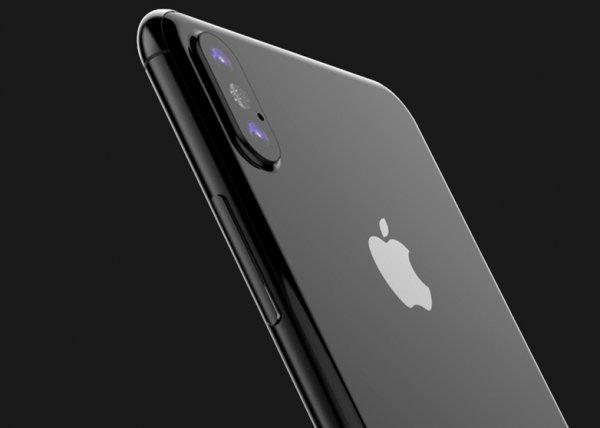 В Сети показали дизайн  iPhone 8