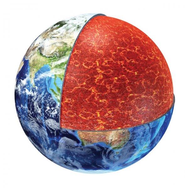 Ученые: Мантия Земли горячая, как и 2,5 млрд лет назад