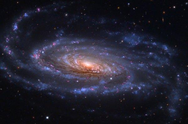 Астрономы создали спиральные галактики на базе компьютерной модели