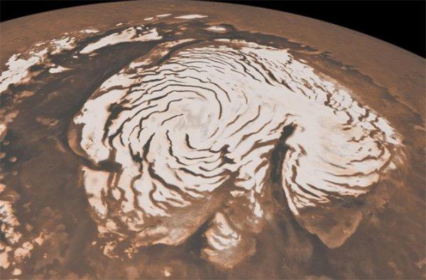 NASA: На Юпитере может идти снег или град