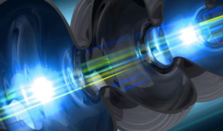 Ученые создали черную дыру при помощи мощного лазера ийода
