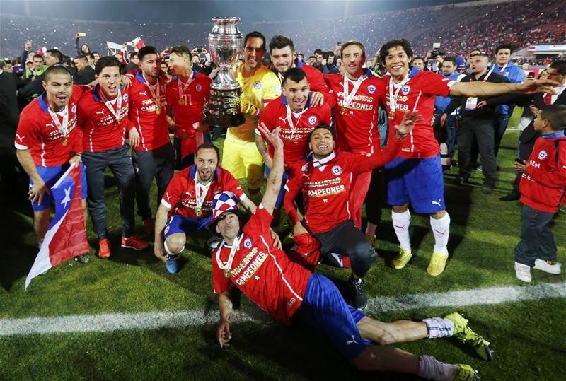 Известен полный список игроков сборной Чили наКубок Конфедераций