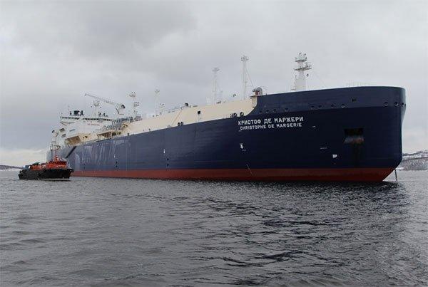 Арктический танкер назвали именем погибшего Кристофа де Маржери