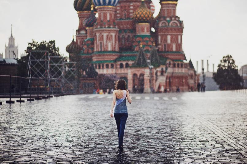 На российскую столицу обрушится шквалистый ветер иливни