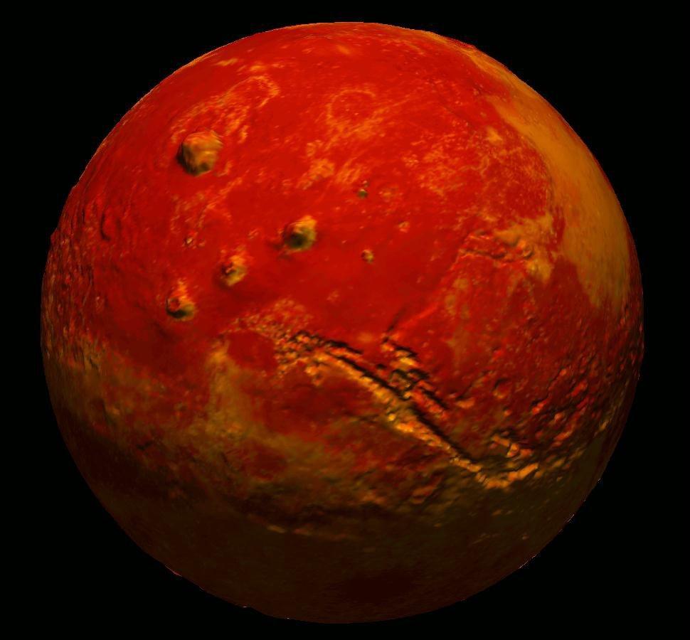 Ученые NASA обнаружили на Марсе новую глубокую дыру