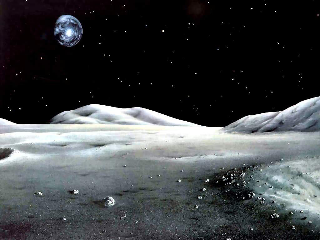 Зонд NASA нашел ледяные глыбы наЛуне