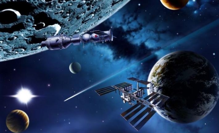 Руководитель Китайская республика призвал все страны мира развивать мирное использование космоса