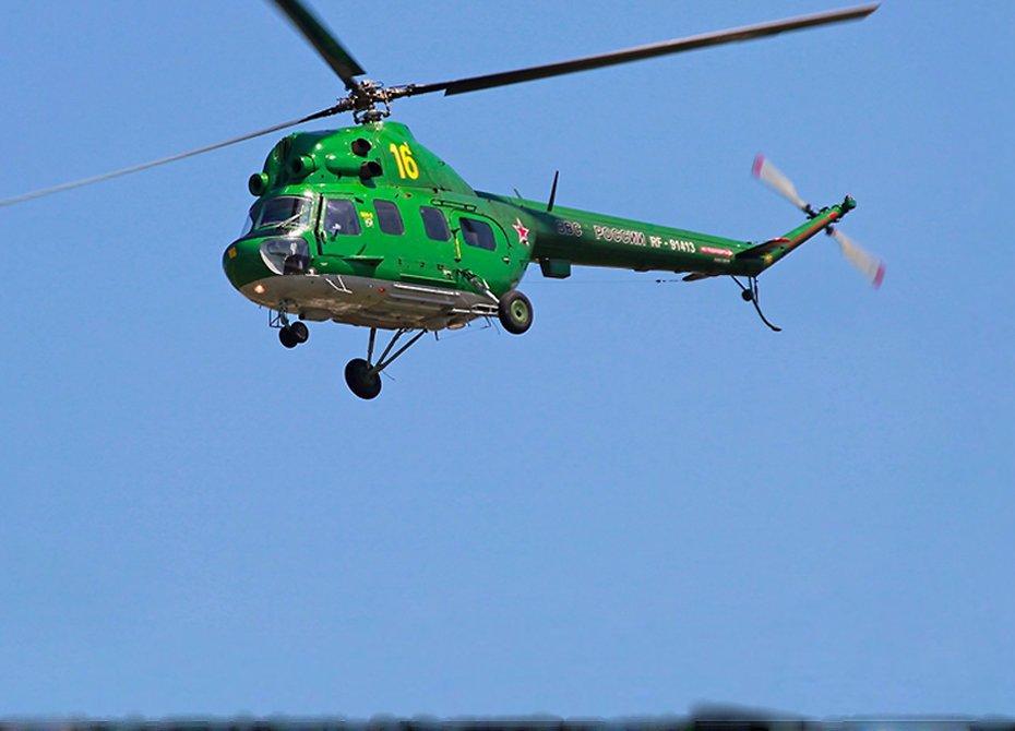 Вертолёт Ми-2 рухнул вСтавропольском крае