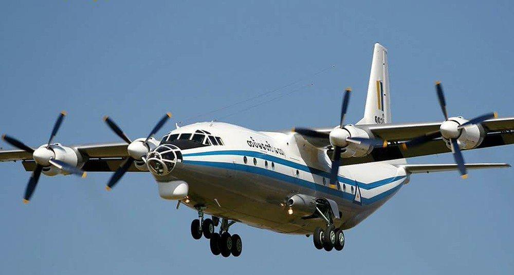 Пропавший вМьянме военный самолет найден вморе стелами погибших