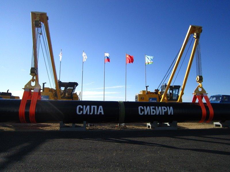 В 2017-ом году будет сооружено неменее 1 тыс кмгазопровода «Сила Сибири»