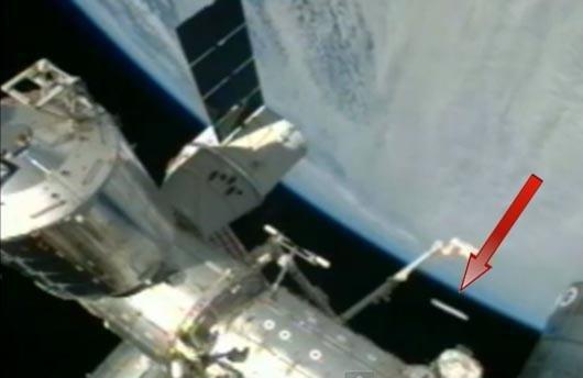 Наорбите Земли NASA засекли огромное НЛО