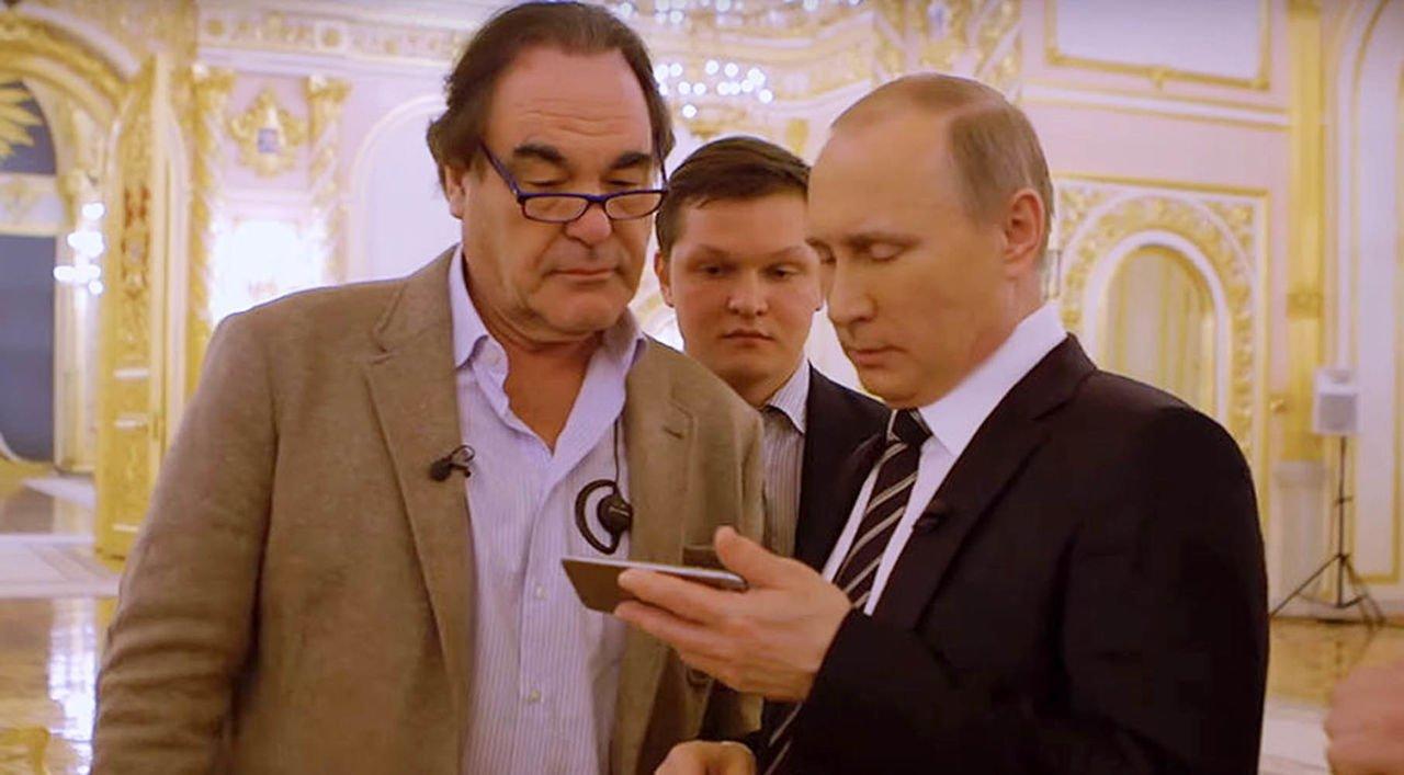 Фильм Стоуна оПутине покажет французский канал