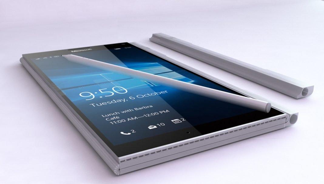 Microsoft запатентовала вSurface Phone возможность складываться пополам