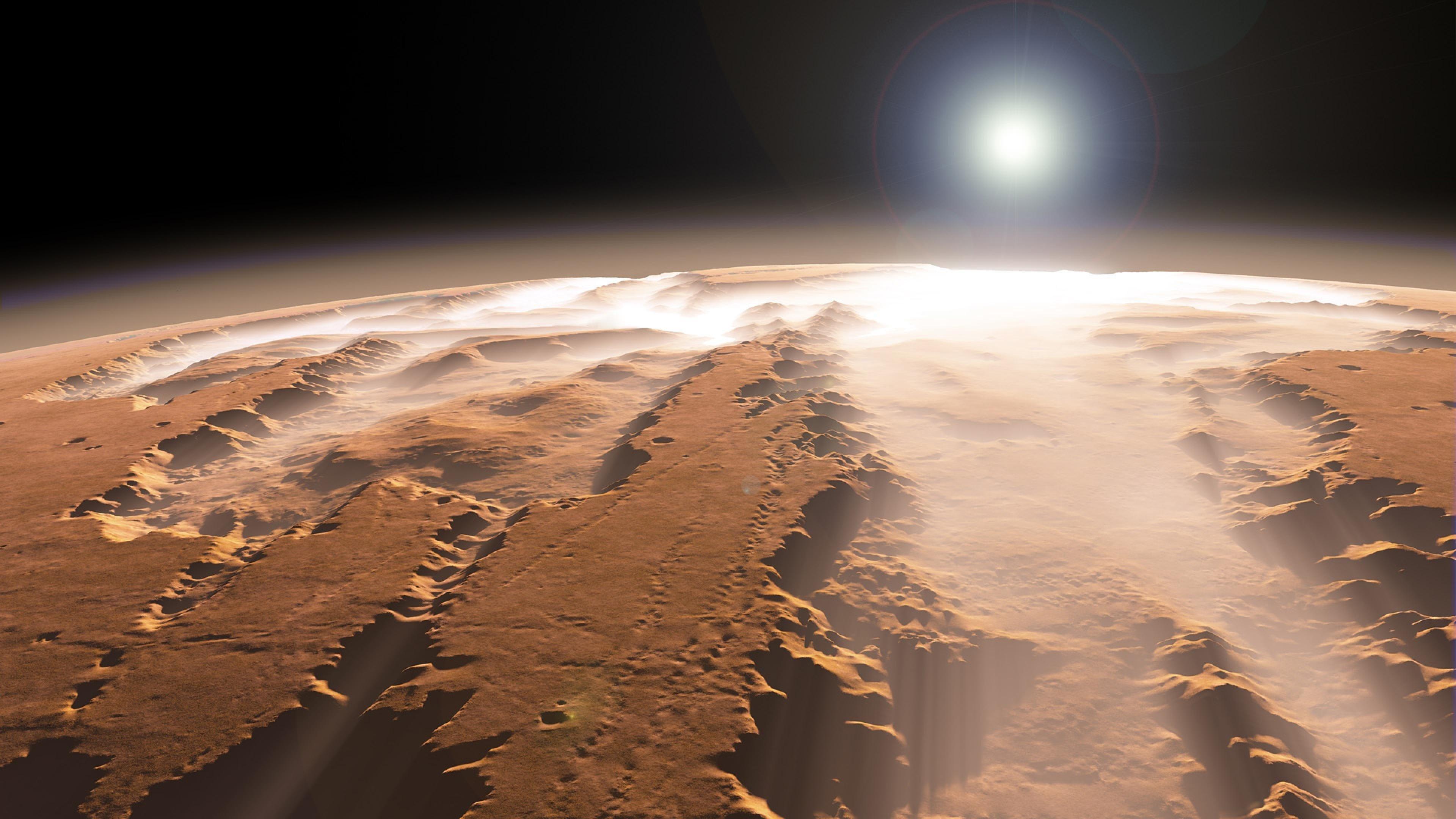 Ученые: нарельеф Марса повлияли торнадо