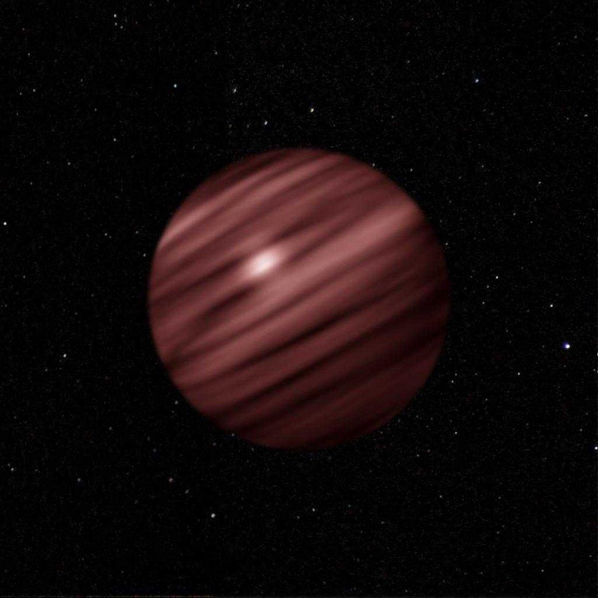 Астрономы: Коричневый карлик превратился вдве планеты