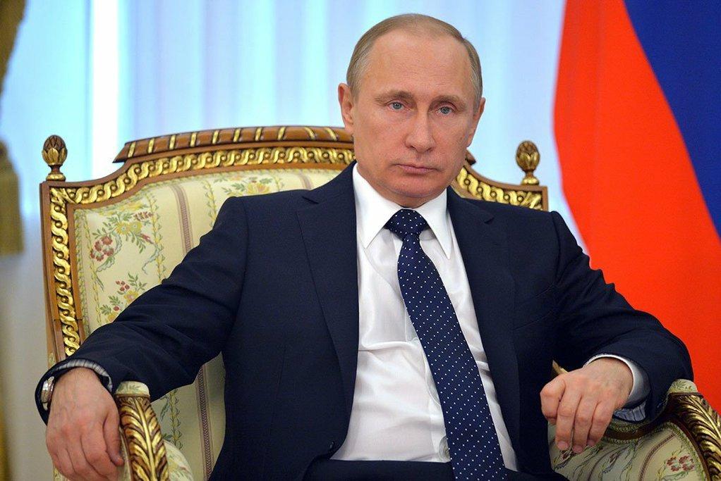 Путин считает, что конфликт вДонбассе посредством оружия решить нельзя