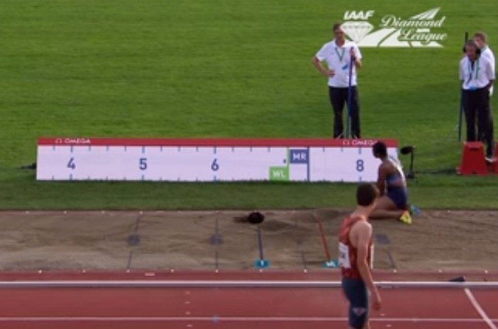 Нигерийская легкоатлетка осталась без головы после прыжка вдлину