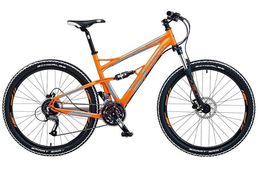 У Ленд-Ровер появился велосипед за130 тыс. руб.
