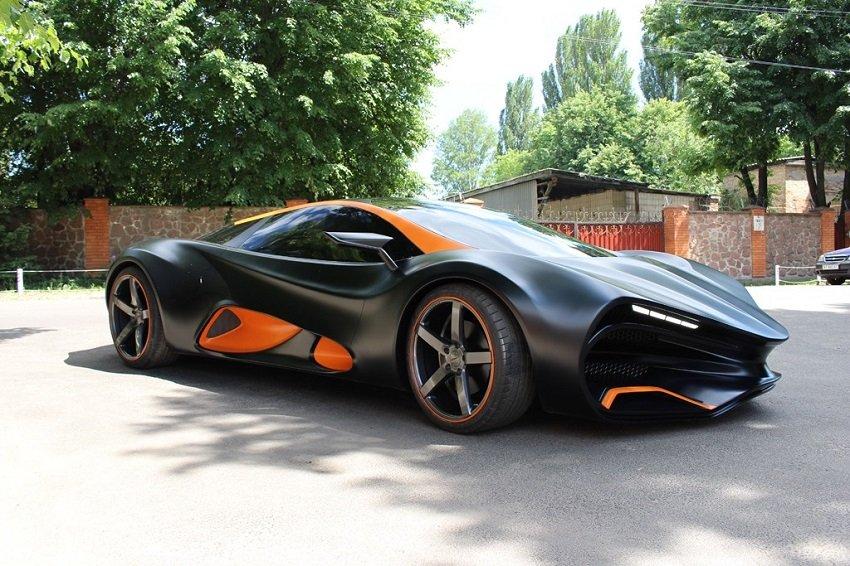 ВУкраинском государстве раскритиковали суперкар Himera, посчитав очень дорогим