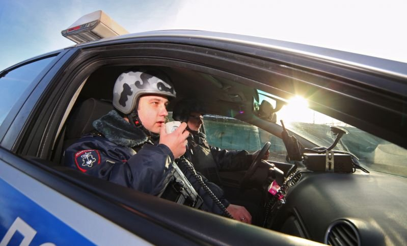 ВДТП вцентре столицы  пострадали трое служащих  милиции