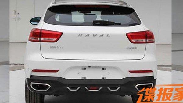 Новый кроссовер Haval H4 получил внешность  встиле WEY VV7