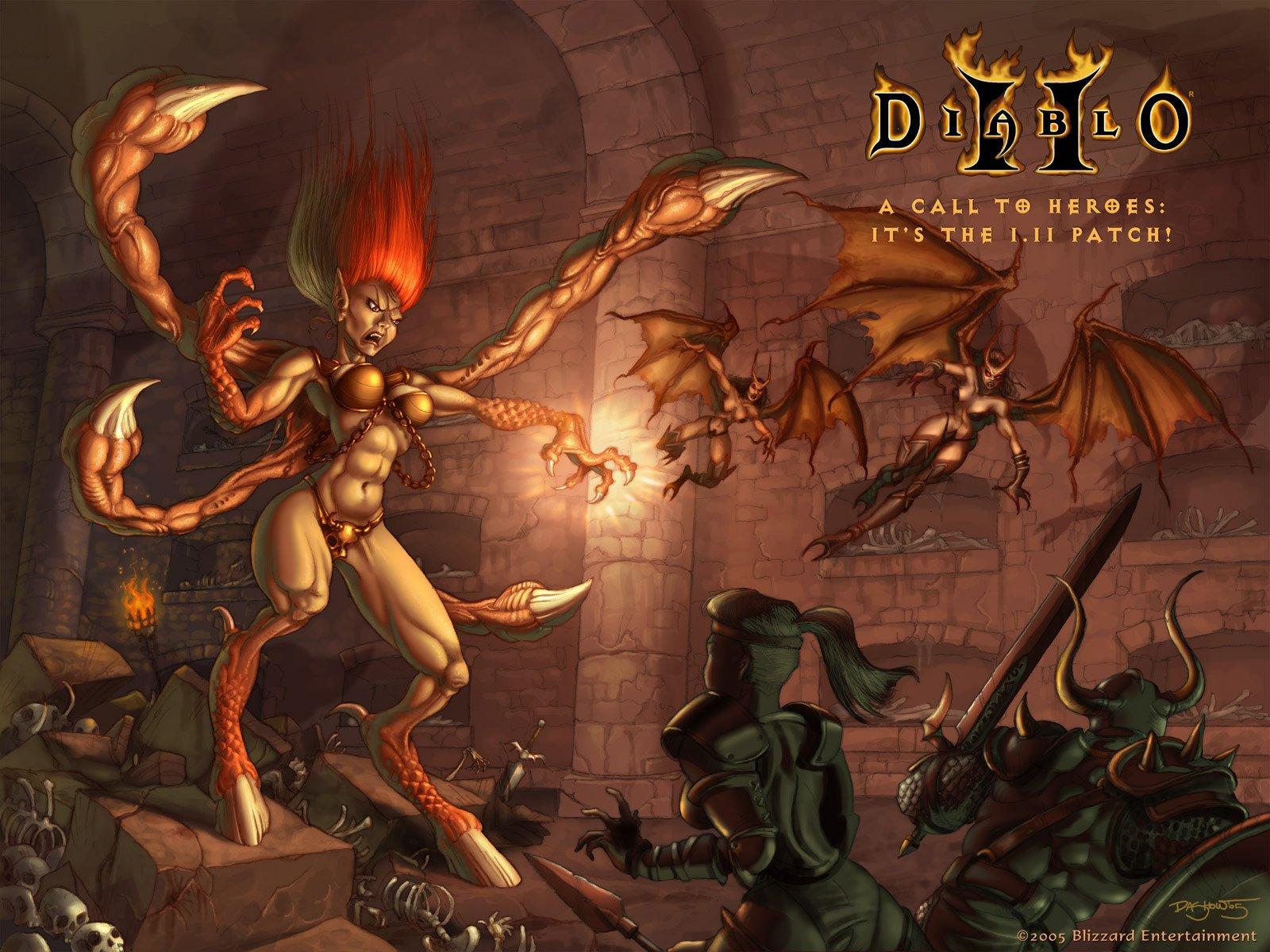 Blizzard намекнула наобновлённые версии Diablo 2 иWarcraft 3