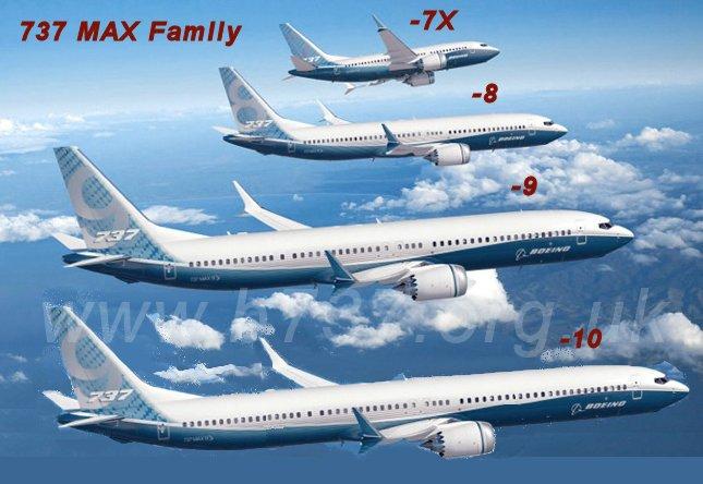 Boeing представил новейшую модификацию лайнера 737 Max