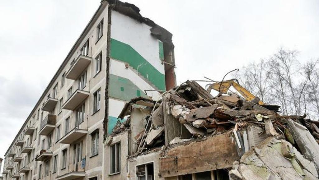 Сор  отснесенных домов в столицеРФ  превратят в строительные материалы