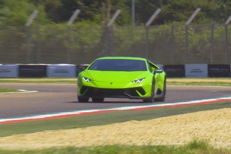 Новый Lamborghini Huracаn побил рекорд скорости