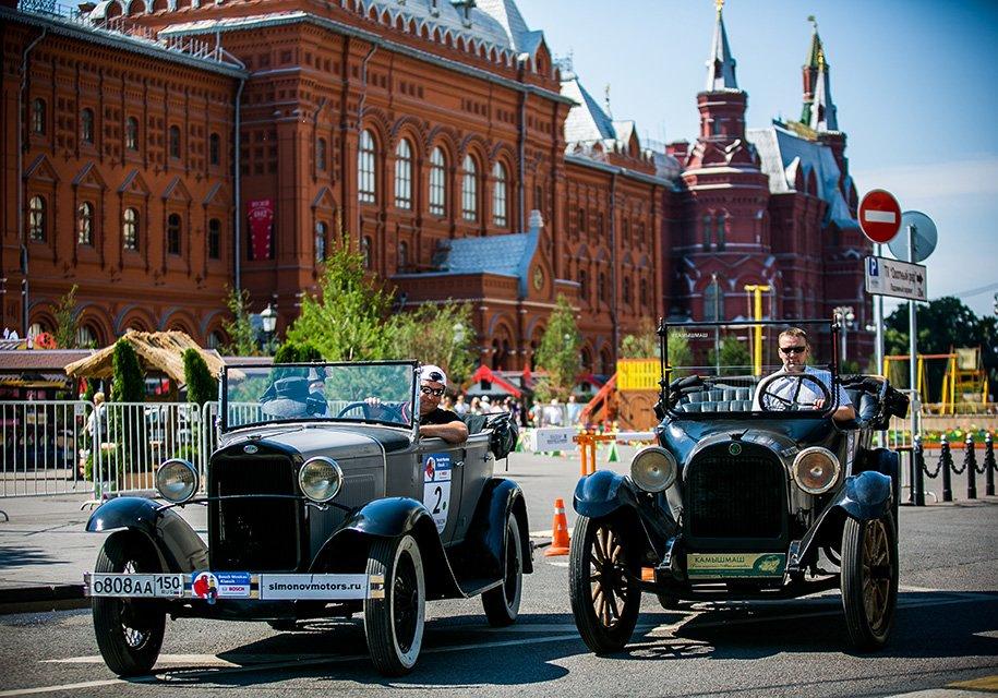В Москве проведут ралли старинных автомобилей