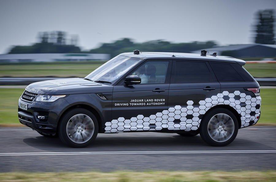 Представлен на100% автономный джип Range Rover