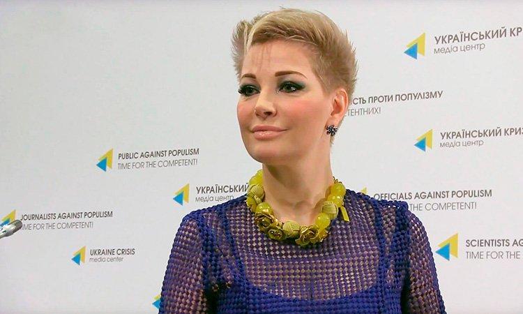 Мария Максакова открыла Фонд одаренных детей вКиеве