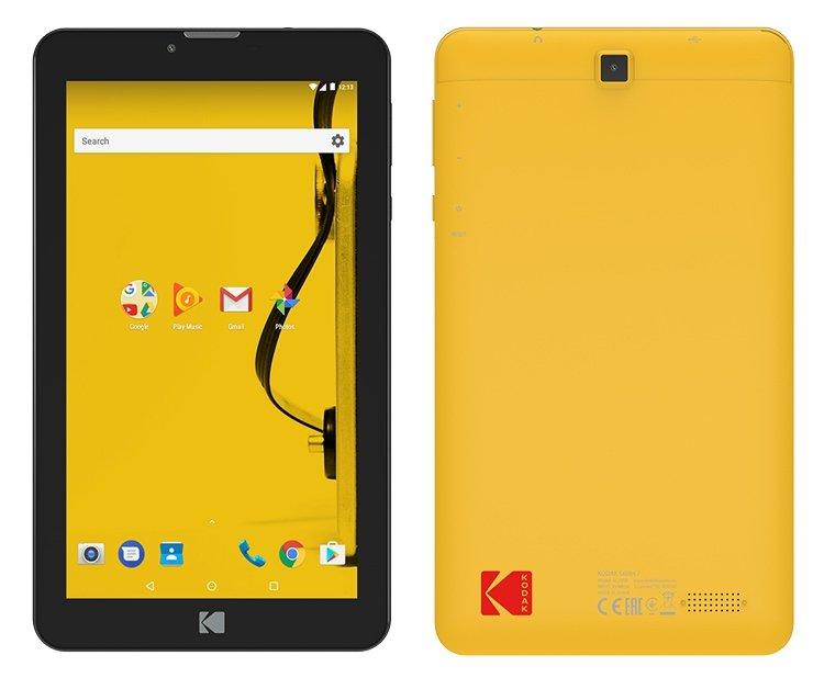 Компания Kodak представила бюджетные планшеты