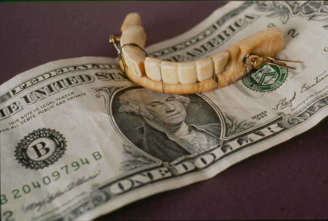УДжорджа Вашингтона были деревянные зубы